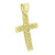 14K Gold Finish Cross Pendant Jesus Charm Sale