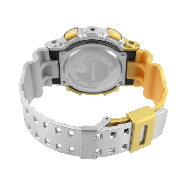 Watch Gold Silver Sports Editions Digital Analog Brand New