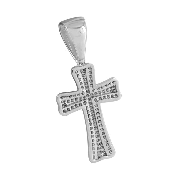 Cross Pendant Jesus Charm Stainless Steel Chain Charm Classy