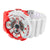 Red White Shock Resistant Watch Sports Design
