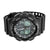 Mens Black Sports Watch Shock Resistant Dual Display