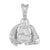 Buddha Buddhist Tibet Pendant Stainless Steel Necklace