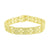 Men Designer Bracelet Canary Lab Diamond Micro Pave