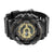 Black Gold Shock Resistant Sports Watch Water Resistant