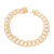 Miami Cuban Link Bracelet 14K Rose Gold Finish