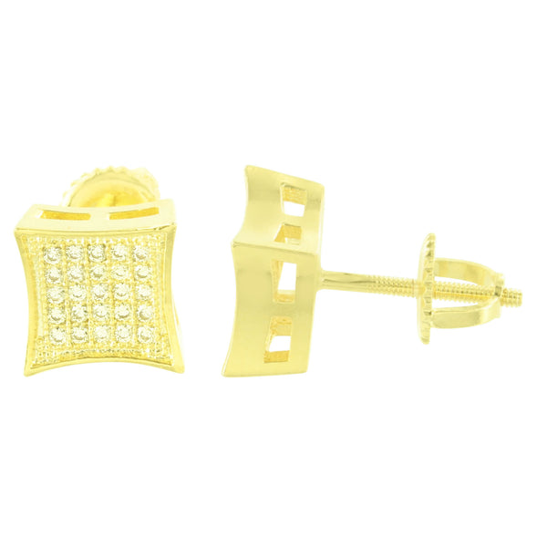 Kite Lab Stones Micro Pave Bling Earrings