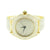 Mens Gold Finish Watch Fully  Bling Joe Rodeo Jojo Jojino