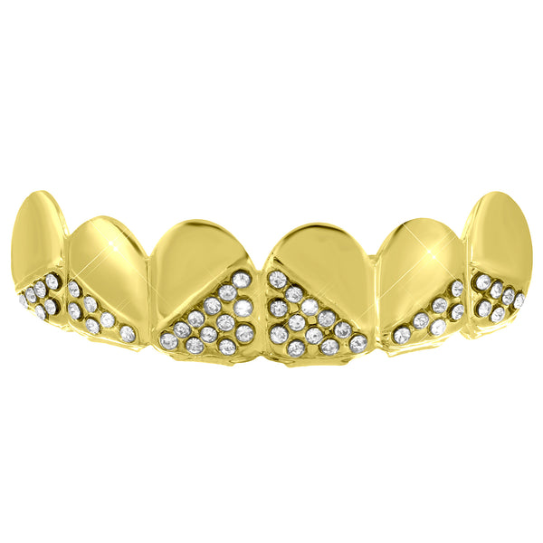 Designer Grillz Upper Teeth Hip Hop
