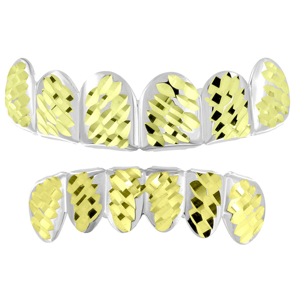 Diamond Cut Grillz Set Halloween Sale