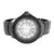 New Designer Mens Black Ice Mania Sporty Look Analog Diamond Wristwatch