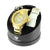 Gold Finish Numeral Hour Markers Diamond Bezel Casual Wear Ice Mania Watch