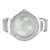 Real Diamond All White World Map Dial Mens Watch 14k White Gold Finish