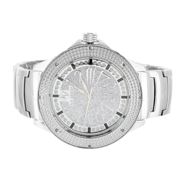Ice Mania Real Diamond Metal Watch