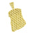 Yellow Lab Diamonds Jesus Pendant Gold Finish Christ Face Charm