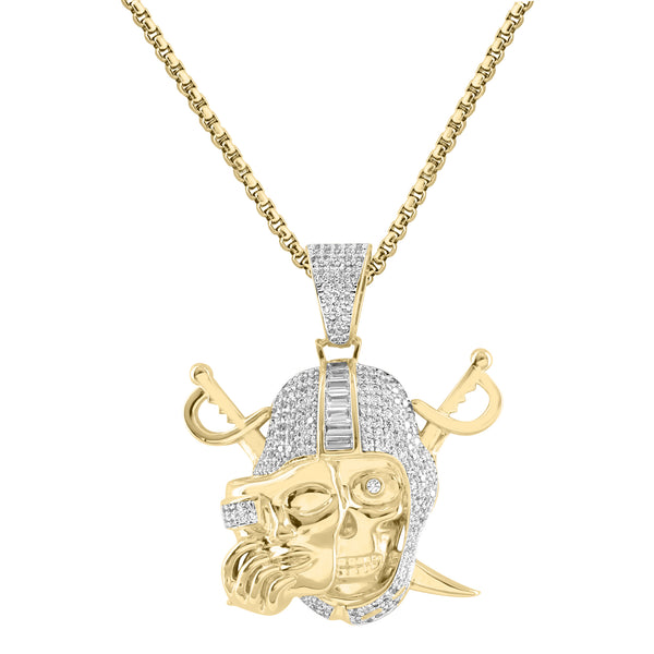 Iced Out Oakland Raiders Pendent Charm Necklace
