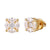 Marquise Cut Center Solitaire Designer 925 Silver Studs Earrings