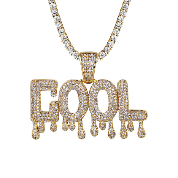 Icy cool drip rapper pendant