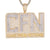 Men's Baguette Icy CFN Came From Nothing Rapper Pendant