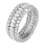 Marquise Simulated Diamond Ring Eternity Band Womens Sterling Silver Engagement
