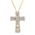 Infinity Cross  Luxurious Pendant Necklace