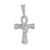 White Ankh Cross Pendant Simulated Diamonds Iced Out Symbol Of Life