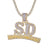 3D Supply And Demand Custom SD Pendant