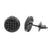 Earrings Round Shape Studs Screw On