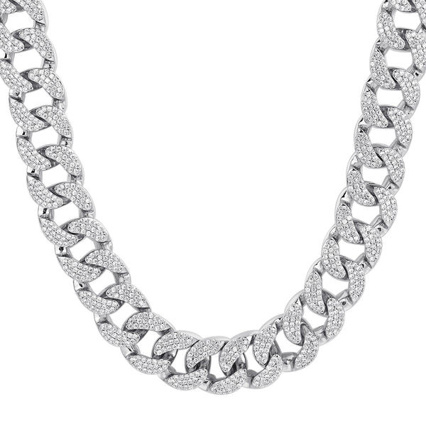 Bling 18mm Heavy Miami Cuban Links 18-36
