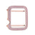 Designer Apple Watch Bezel 38mm Channel Set Series 2 Pink Channel Set Sterling Silver