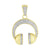 Mens DJ Pendant Headset Sterling Silver