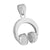 Headphones Design DJ Pendant
