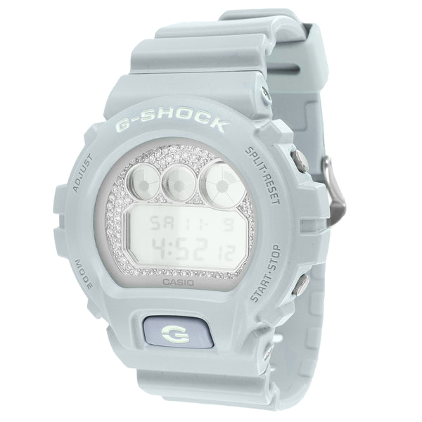 white custom gshock