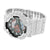 Iced Out G Shock Watch White Custom Mens GA110NM-4ACR Mens 52 MM