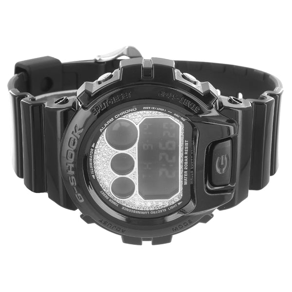 Casio Mirror-Metallic G-Shock DW6900NB-1 Custom Faceplate