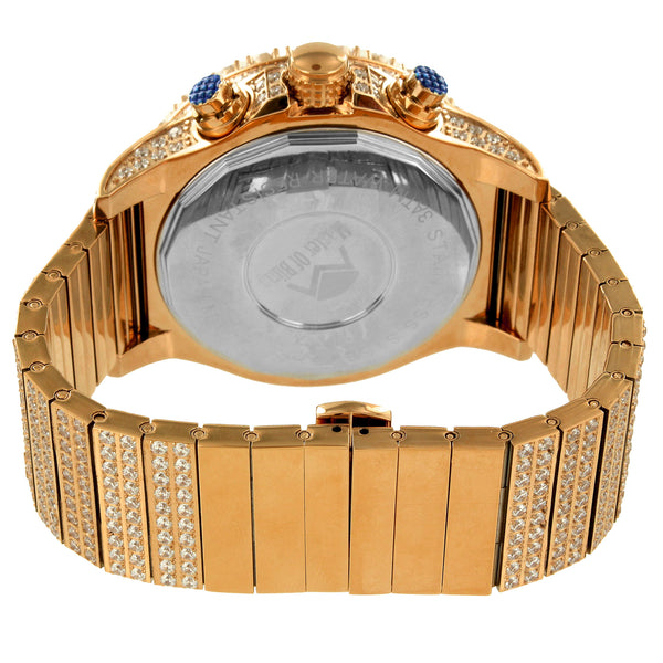 Rose Gold Tone Stainless Steel Jojino Joe Rodeo 48 MM Watch