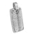 Stainless Steel Dog Tag Pendant Mens Charm