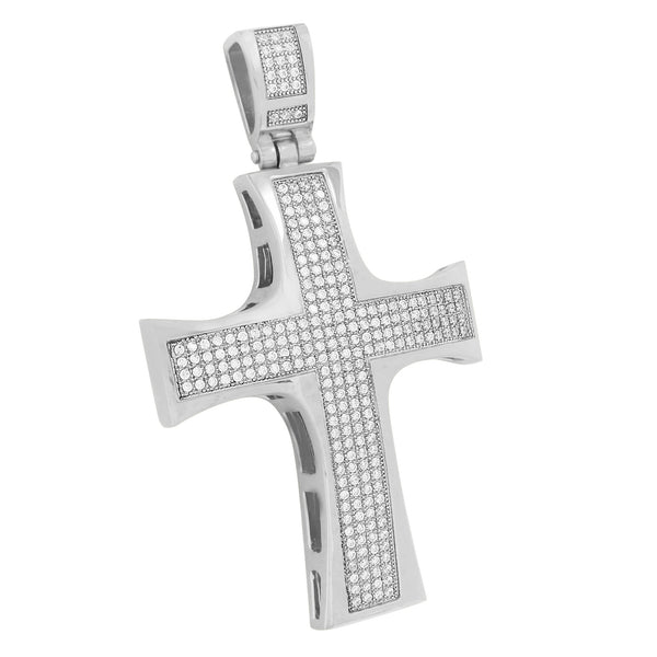 Stainless Steel Cross Pendant Charm