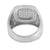 Simulated Diamonds Wedding Ring Wedding Engagement Stainless Steel Party Wear