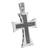 Stainless Steel Cross Pendant Black