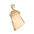 Jesus Christ Pendant Rose Gold Finish Tear Drop
