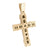 Mens Jesus Cross Pendant Stainless Steel With Chain