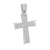 White Stainless Steel Cross Pendant