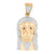 Stainless Steel Jesus Pendant Rose Gold Finish
