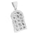 Jesus Christ Mens Pendant Stainless Steel