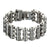 Mens Stainless Steel Bracelet Motorcycle Chain Link 24 MM Custom Stylish