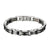 2 Tone Mens Bracelet Hip Hop Stainless Steel 10mm Bike Design Link