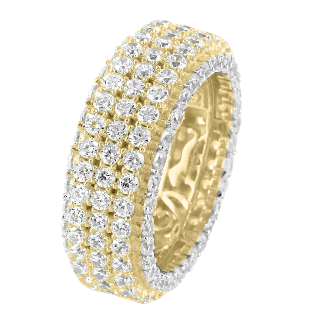 fit gold comfort yellow bands menwomen wedding ring solid band itm