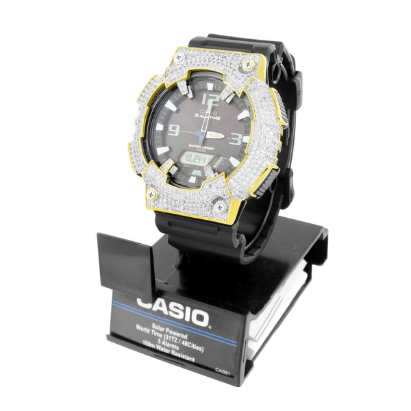 Mens Casio Black Watch AQS810W-1A