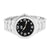 Mens Ice Master Watch Black Dial Stainless Steel Back Joe Rodeo Jojino Custom