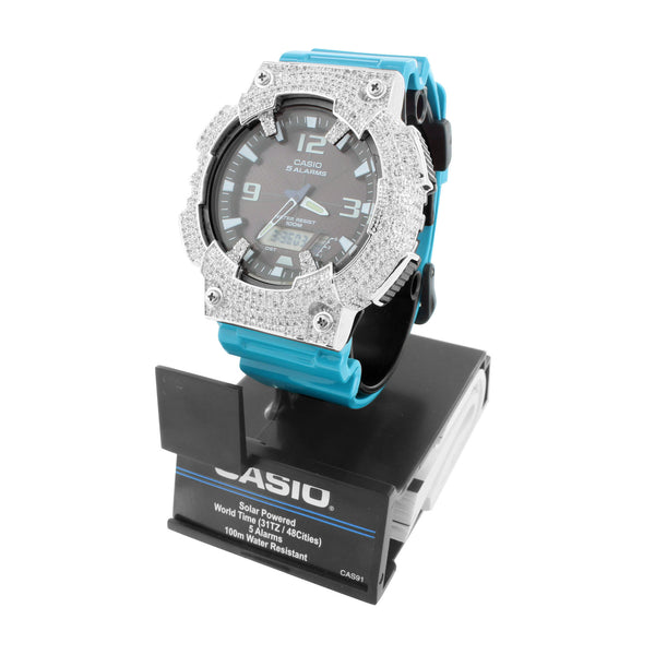 Mens Solar Powered Casio Watch AQS810W-7A